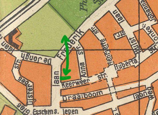 plattegrond Philipsdorp, 1926